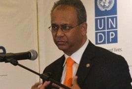 OAS Assistant Secretary General Ramdin Praises Model OAS in Visit to Saint Kitts and Nevis
