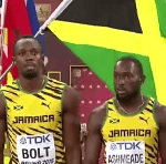 Jamaica Captures Sprint Relay Double At IAAF World Championships