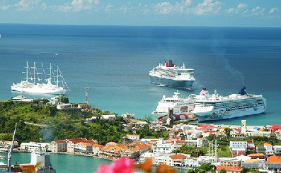 St. George's Cruise Port - Grenada rated as a top Southern Caribbean cruise destination by CruiseCritic.com