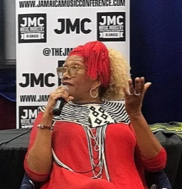"Marcia Griffiths ""Queen of Reggae"" was the ""Artist in Focus"" featured speaker at the 6th Annual JMC."