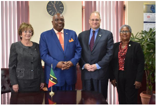 St. Kitts and Nevis PM Held Discussions with High Level U.S. Delegation