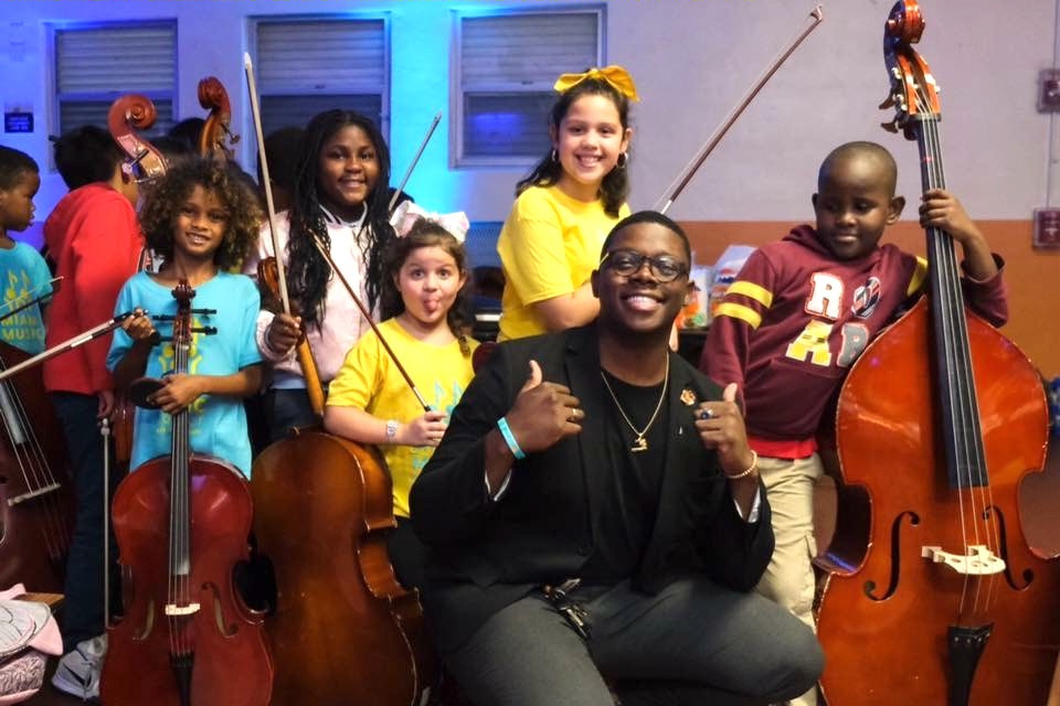 Miami Music Project, Claudens Louis Teaches His Students Important Life Lessons