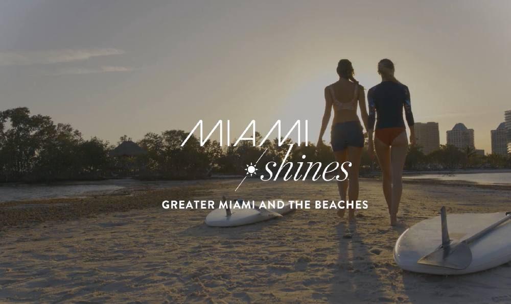 The Greater Miami Convention & Visitors Bureau Launches the MIAMI SHINES Tourism Recovery Campaign